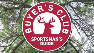 You can also sign up for Sportsmans Guide Buyer's Club for exclusive member-only deals, plus save up to 10% off nearly every purchase. The best time to save in-store or online is during The Sportsman's Guide Black Friday and Cyber Monday sales%().