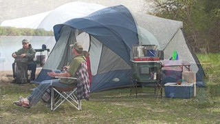 Ridgeway by Kelty Skyliner 14 Person Cabin Tent - 640543 Cabin Tents at Sportsmanu0027s Guide & Ridgeway by Kelty Skyliner 14 Person Cabin Tent - 640543 Cabin ...