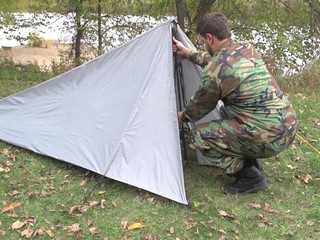 HQ ISSUE® Backpack Tent Gray - 581519 Backpacking Tents at Sportsmanu0027s Guide & HQ ISSUE® Backpack Tent Gray - 581519 Backpacking Tents at ...