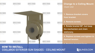 Coolaroo Exterior Sun Shade Installation Overview - Change to ...