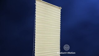 Blinds Com No Holes Pleated Shade Product In Motion