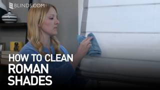 How To Clean Roman Shades Blindscom