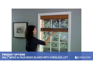 Bali Wood And Fauxwood Cordless Lift Product Spotlight