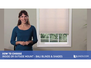 Bali Blinds Amp Shades Inside And Outside Mount