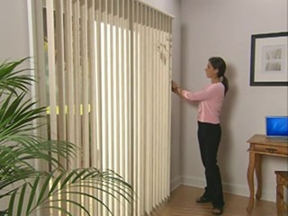 Levolor Vertical Blinds With The Backstacker Option