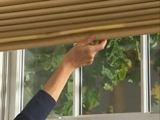 Levolor Fabric Roman Shades With Cordless Lift Option