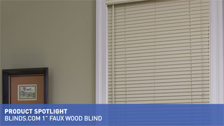 1 Inch Faux Wood Blinds Blindscom