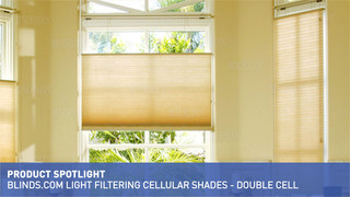 3 8 Inch Double Cell Light Filtering Shades Product