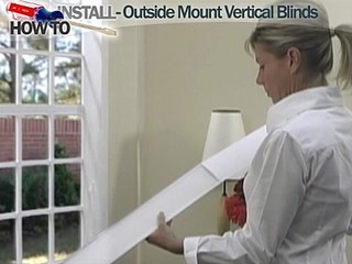 How To Install Vertical Blinds Video Outside Mount
