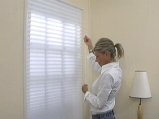 how to install outside mount grande pleated shades