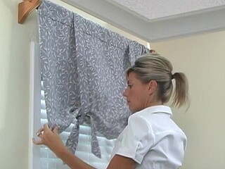 How To Install A Window Valance Video Roll Up Valance