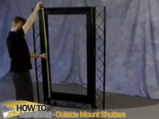 How To Measure For Outside Mount Plantation Shutters
