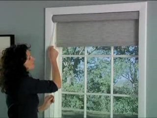 Bali Roller Solar Shades With Continuous Cord Loop Lift