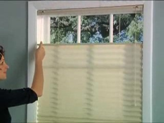 bali pleated shades with lift american blinds video gallery