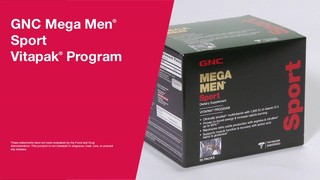 Gnc Mega Men Sport Vitapak Program 187 Gnc Vitamins
