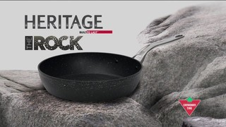 Heritage Rock Forged Non Stick Cookware 187 English
