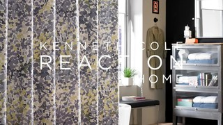 ... Bed Bath Beyond Tv Watch Kenneth Cole Reaction Confetti Shower Curtain  ...