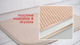 Bed Bath Beyond Tv Watch Microdry Ultimate Luxury Border Memory Foam Rug