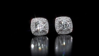 90ctw Round Diamond Earrings Video Gallery