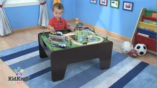 Great So Much Fun 2 In 1 Activity Table   Espresso U0026raquo; KidKraft   Toys    Video Gallery