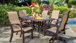 Madison 7-piece Sling Dining Collection » Welcome to Costco Wholesale