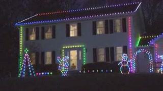 ge color effects 50 led light string set santa best craft outdoor. Black Bedroom Furniture Sets. Home Design Ideas