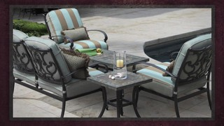 Monte Cristo 5 Piece Deep Seating Set Raquo Veranda Classics
