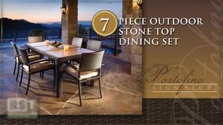 Portofino Signature 7 Piece Dining Set Welcome To Costco Wholesale